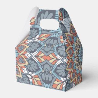Floral Mandala Favor Box