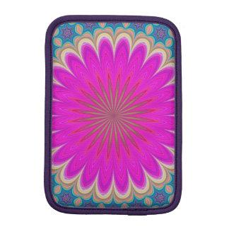 Floral mandala iPad mini sleeves