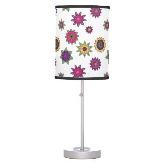 Floral Mandala Lamp