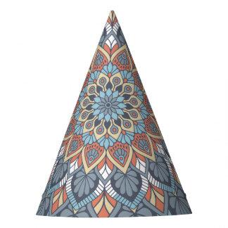 Floral Mandala Party Hat