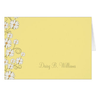 Floral (marguerite) carte