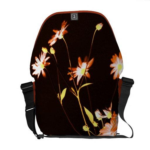 floral courier bag