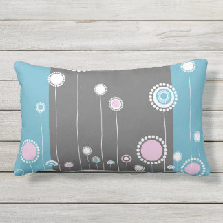 Floral Modern Stylish Outdoor Pillow