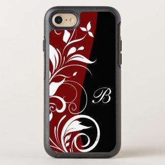 Floral Monogram OtterBox Symmetry iPhone 8/7 Case