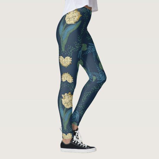 Floral mood legging