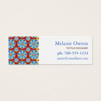 Floral Mosaic Business Cards