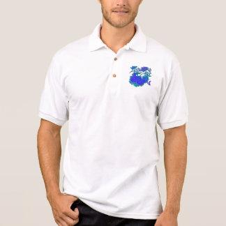 Floral Motif Remake Polo Shirt
