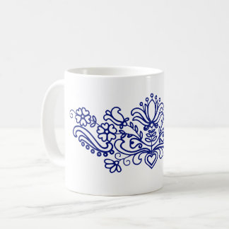 Floral motifs from Hungary (Kalotaszeg) Coffee Mug