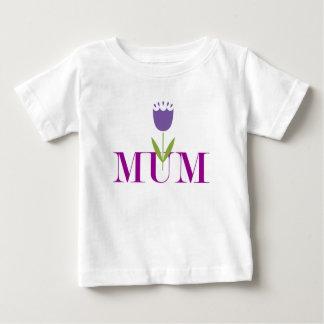 Floral Mum Baby T-Shirt