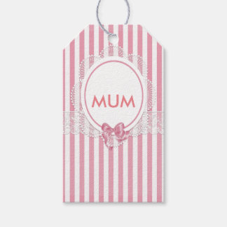 Floral Mum Gift Tags
