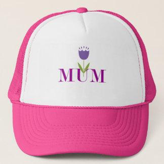 Floral Mum Trucker Hat