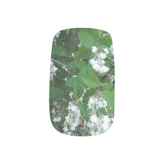 floral nail decals