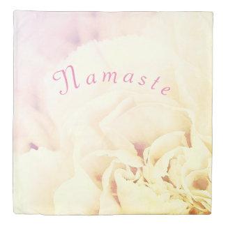 Floral Namaste Duvet Cover
