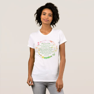 Floral Namaste shirt