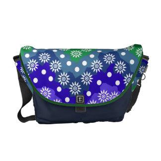 floral nature messenger bags