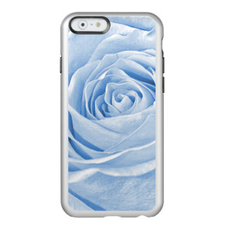 Floral Nature Photo Dainty Light Blue Rose Incipio Feather® Shine iPhone 6 Case