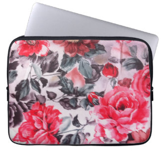 Floral Neoprene Laptop Sleeve 13 inch