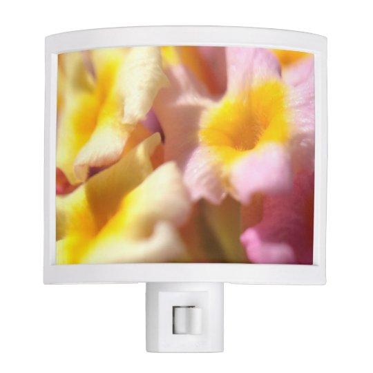 Floral night light