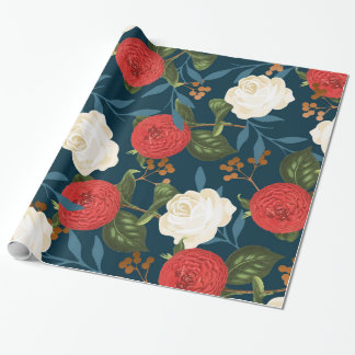 Floral Obsession V2 Wrapping Paper