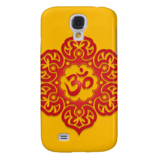 Floral Ohm Design (red & yellow)