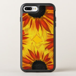 Floral Orange Yellow Red Sunflowers Garden Flowers OtterBox Symmetry iPhone 7 Plus Case