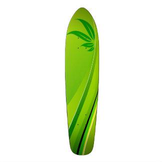 Floral Ornaments Motive Skateboard