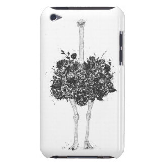 Floral ostrich barely there iPod case