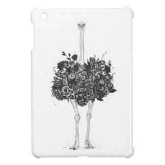 Floral ostrich iPad mini covers