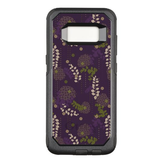 Floral OtterBox Commuter Samsung Galaxy S8 Case