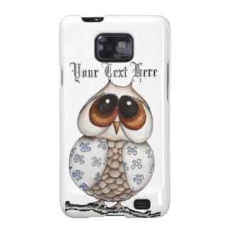 Floral Owl Samsung Galaxy S2 Case