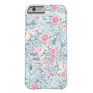 Floral Paint pattern Barely There iPhone 6 Case