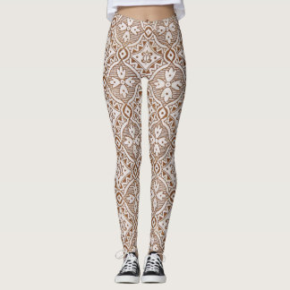 Floral Paisley Leggings