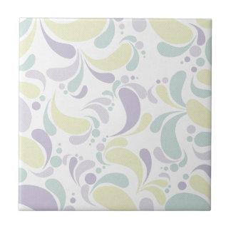 Floral Pale Tile
