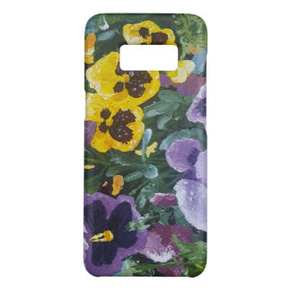Floral Pansy Galaxy S8 cover
