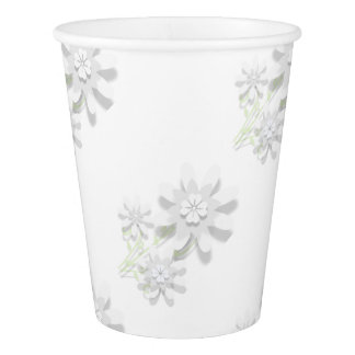 Floral Paper Cup