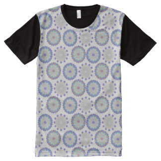 Floral Pastel All-Over-Print T-Shirt