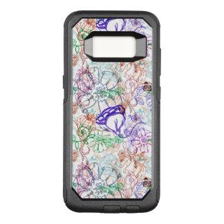 Floral Pattern 5 OtterBox Commuter Samsung Galaxy S8 Case