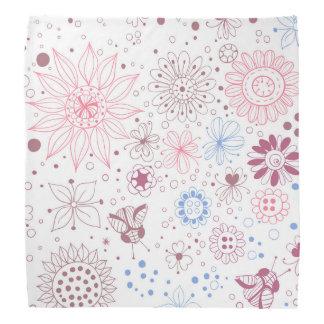 Floral pattern bandanas