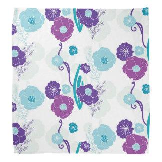 Floral pattern bandanna