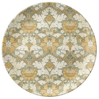 Floral Pattern by William Morris - Porcelain Plate
