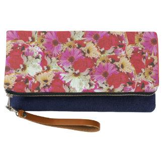Floral Pattern Clutch