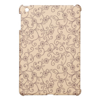 Floral pattern cover for the iPad mini