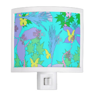 Floral Pattern Lamp Night Light