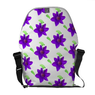Floral Pattern - Messenger Bag