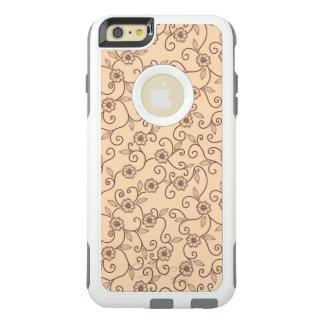 Floral pattern OtterBox iPhone 6/6s plus case
