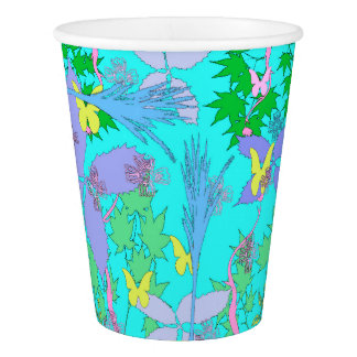Floral Pattern Paper Cups Paper Cup