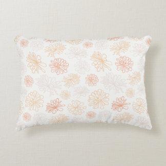 Floral Pattern Succulent Plant Botanical Print Decorative Pillow