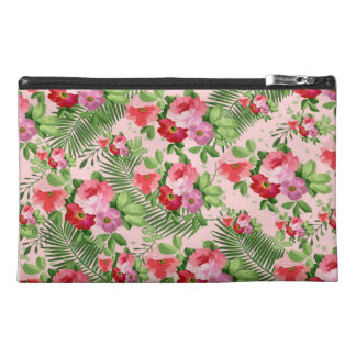 floral pattern travel accessory bag