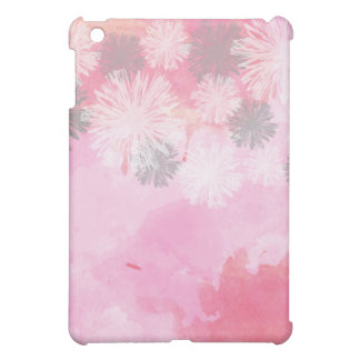 Floral pattern TRENDY pink iPad Case