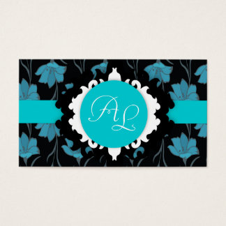 Floral pattern universal profession business card